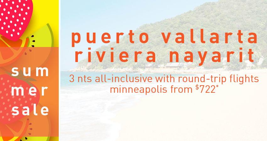Minneapolis to Puerto Vallarta Deals