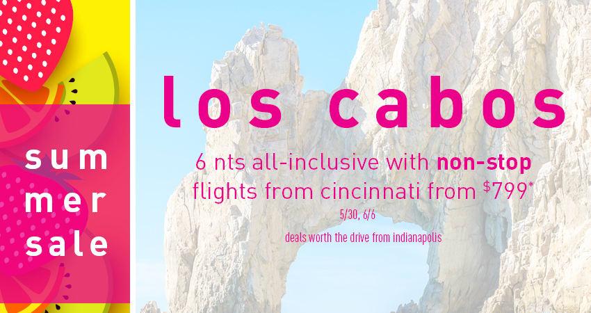 Indianapolis to Los Cabos Deals