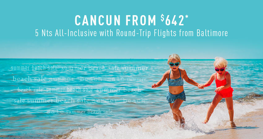 Baltimore to Cancun Deals