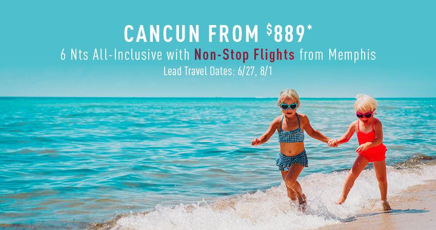 Memphis to Cancun Deals