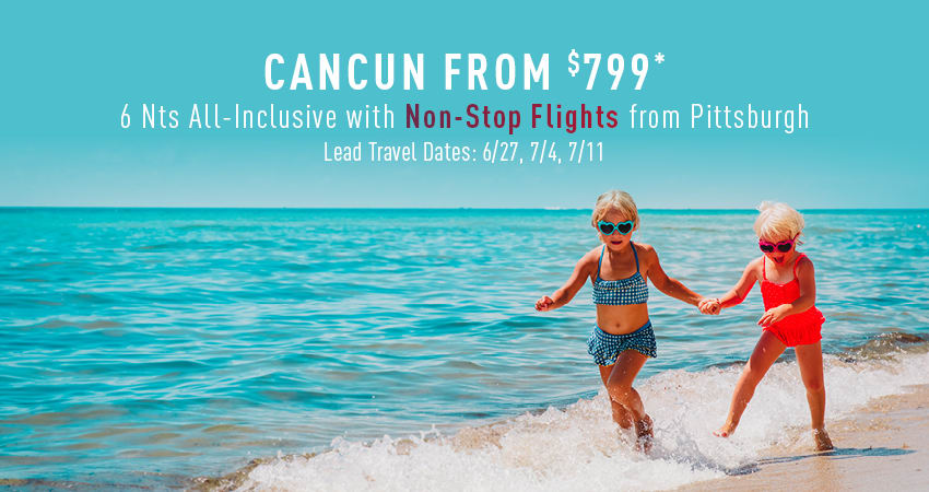 Pittsburgh to Cancun Deals