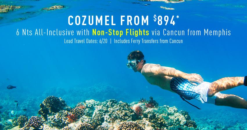 Memphis to Cozumel Deals