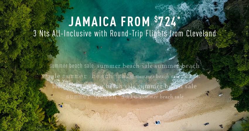 Cleveland to Jamaica Deals