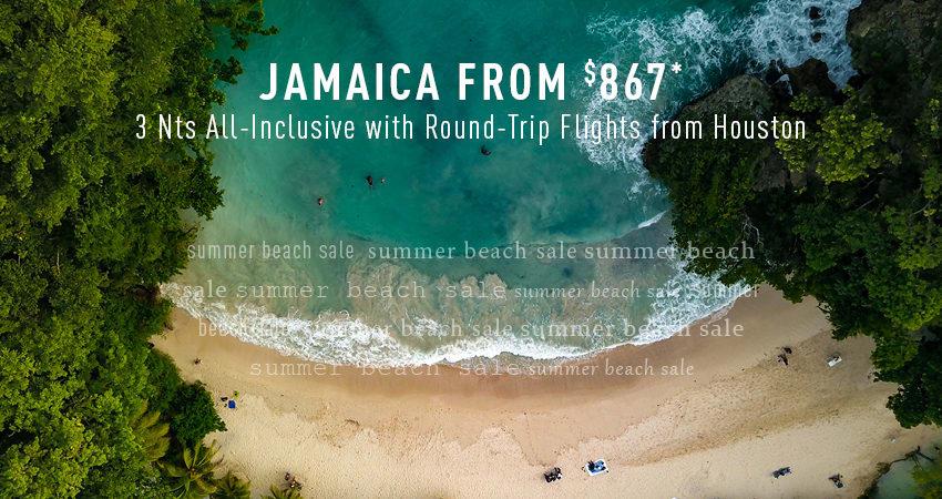 Houston to Jamaica Deals