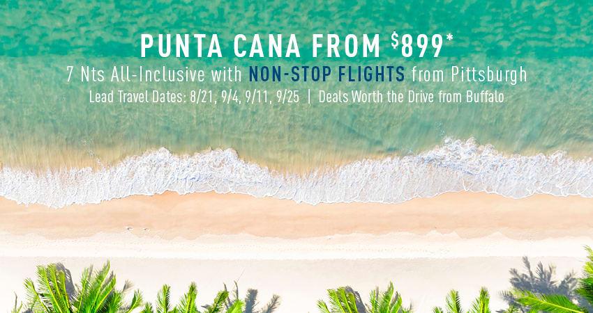 Buffalo to Punta Cana Deals
