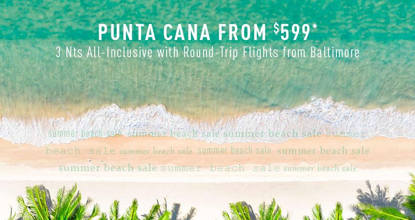 Baltimore to Punta Cana Deals