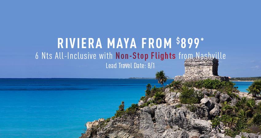 Nashville to Riviera Maya Deals