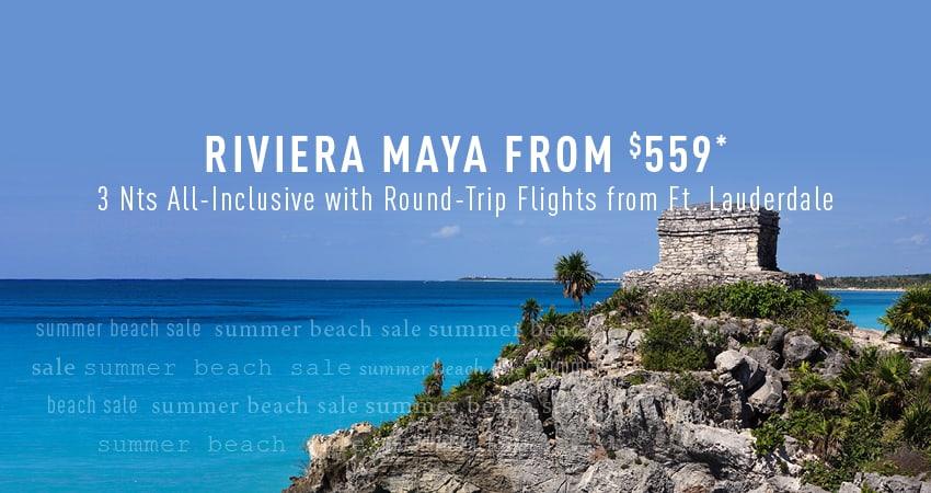Ft. Lauderdale to Riviera Maya Deals