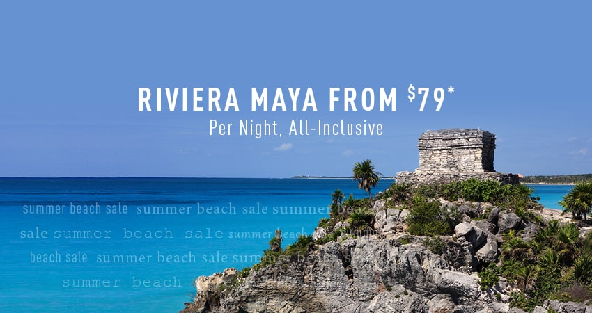 Richmond to Riviera Maya Deals