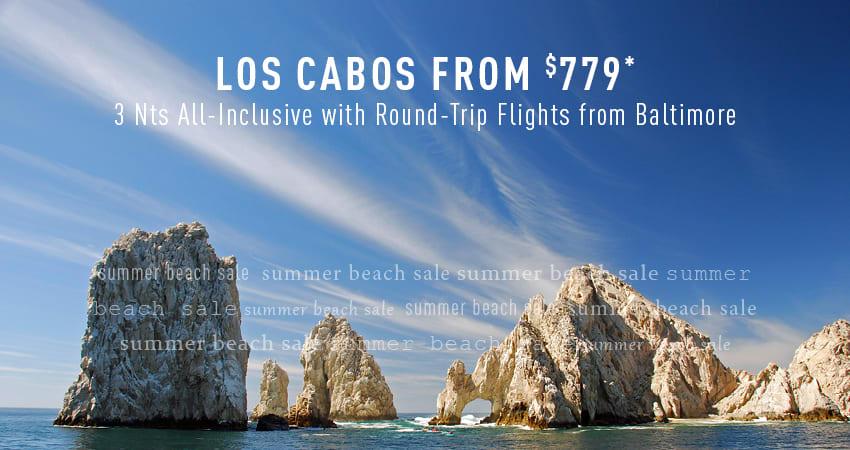Baltimore to Los Cabos Deals