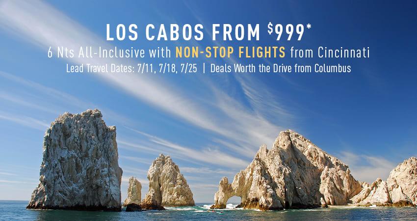 Columbus to Los Cabos Deals