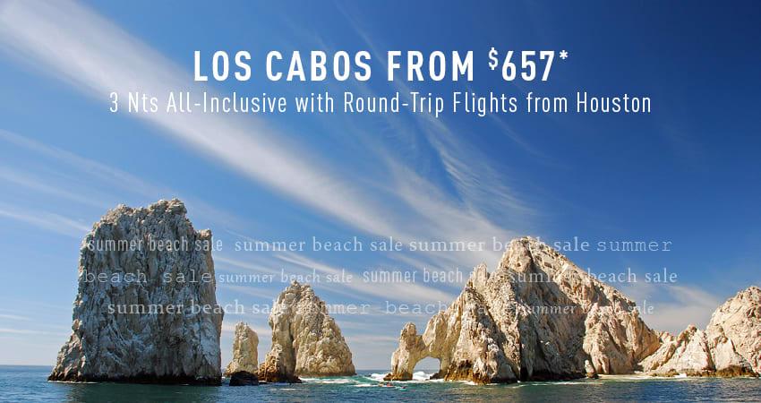 Houston to Los Cabos Deals