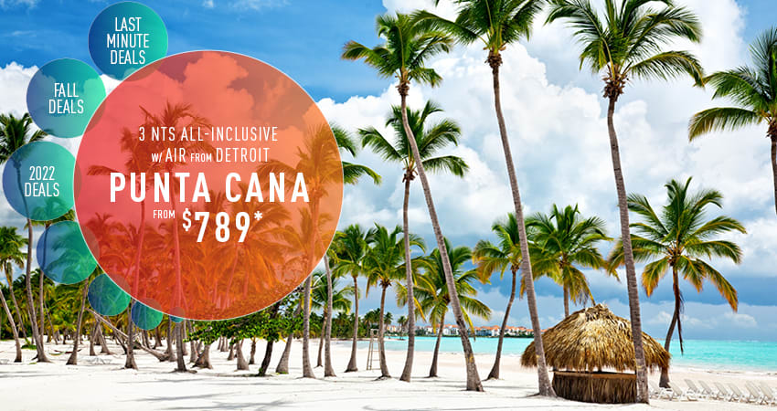 Detroit to Punta Cana Deals