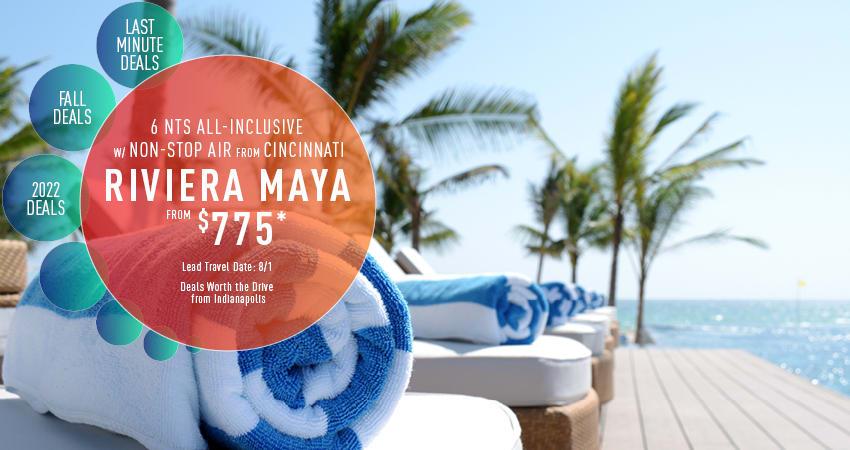 Indianapolis to Riviera Maya Deals