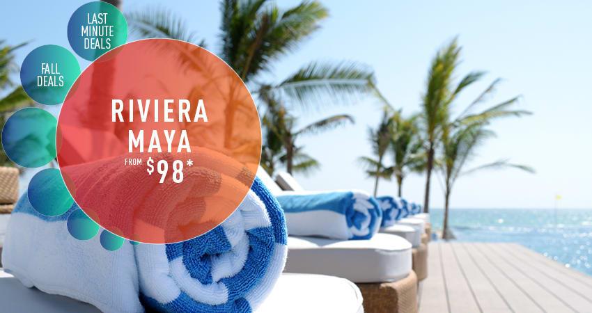San Diego to Riviera Maya Deals