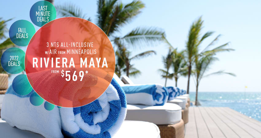 Minneapolis to Riviera Maya Deals
