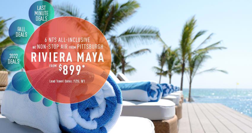 Pittsburgh to Riviera Maya Deals