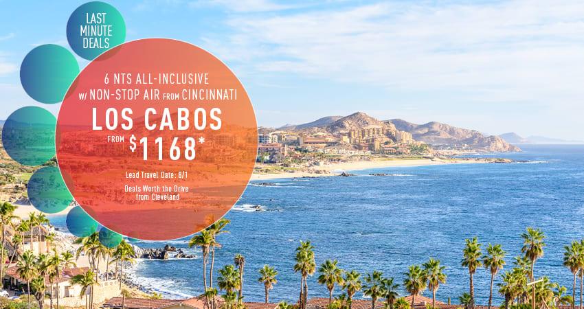 Cleveland to Los Cabos Deals