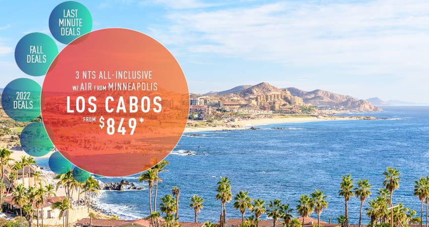 Minneapolis to Los Cabos Deals