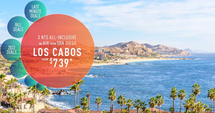 San Diego to Los Cabos Deals