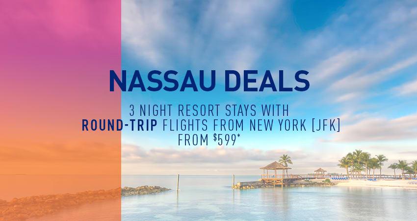 New York City to Nassau Deals