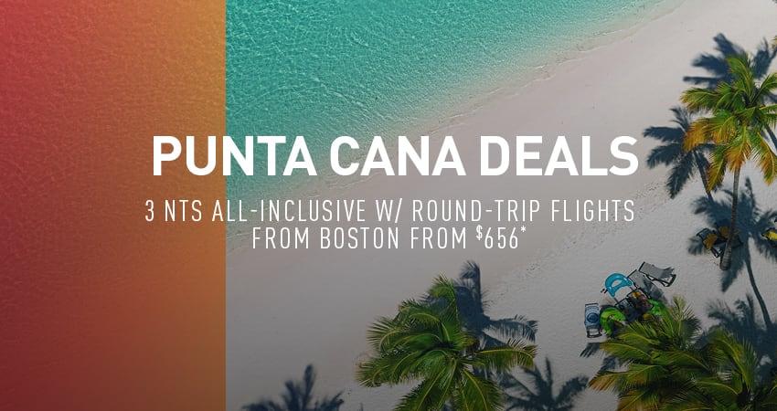 Boston to Punta Cana Deals