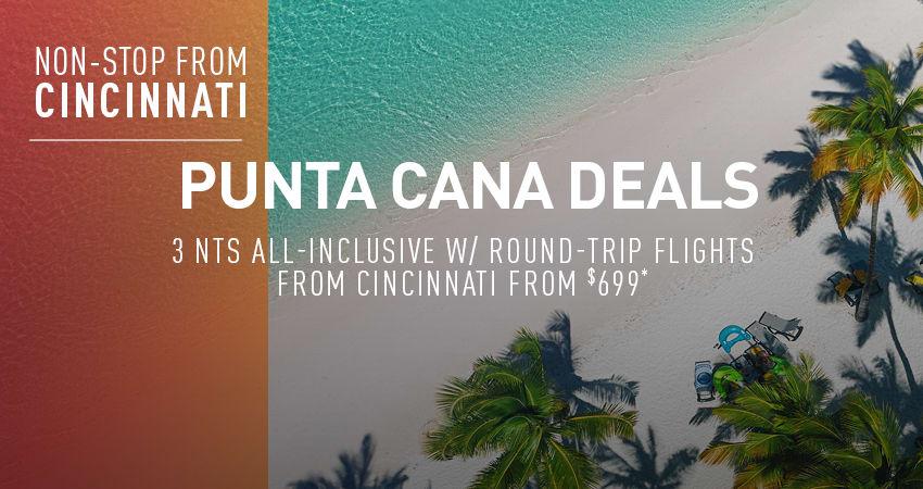 Cincinnati to Punta Cana Deals