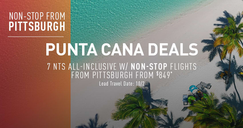 Pittsburgh to Punta Cana Deals