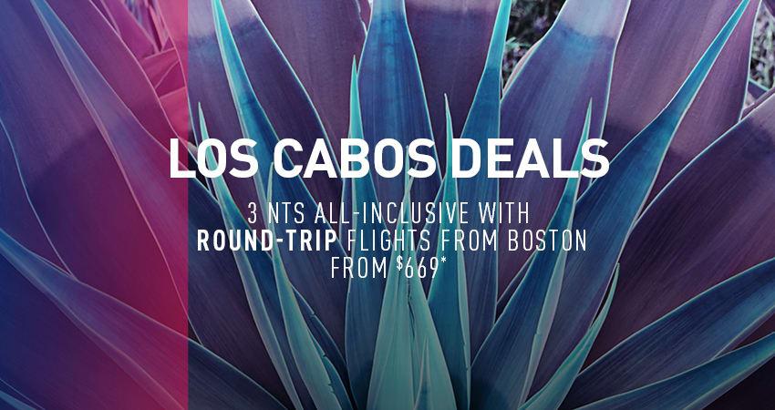 Boston to Los Cabos Deals