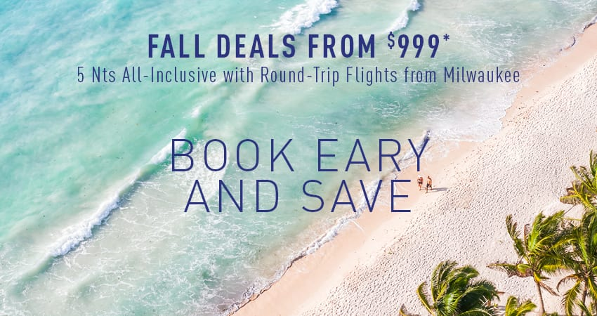 Milwaukee Early Booking Deals