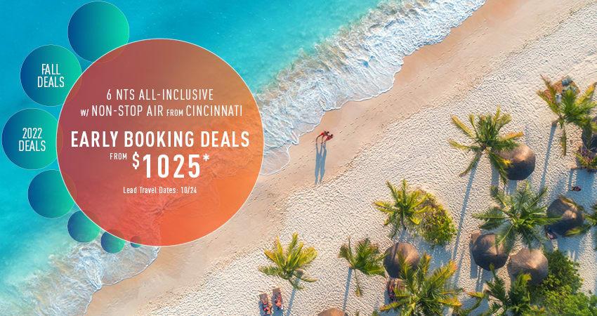 Cincinnati Early Booking Deals