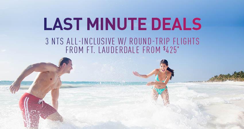 Ft. Lauderdale Last Minute Deals
