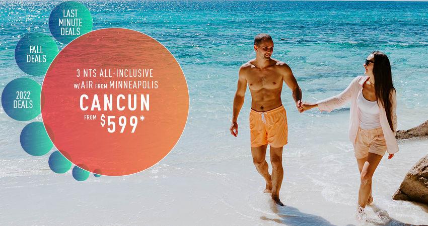 Minneapolis to Cancun Deals