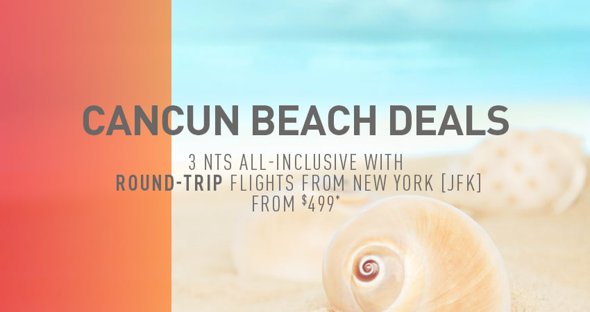 New York City to Cancun Deals
