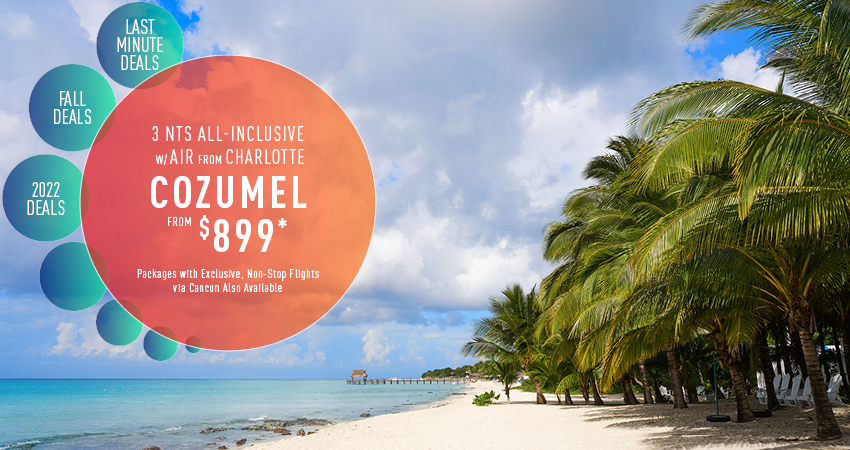 Charlotte to Cozumel Deals