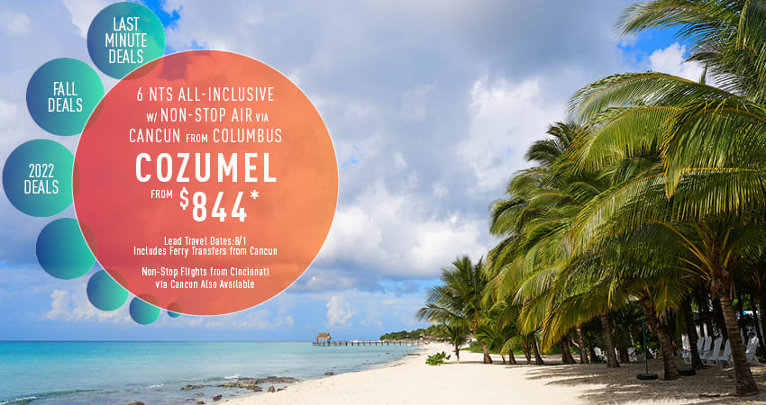 Columbus to Cozumel Deals