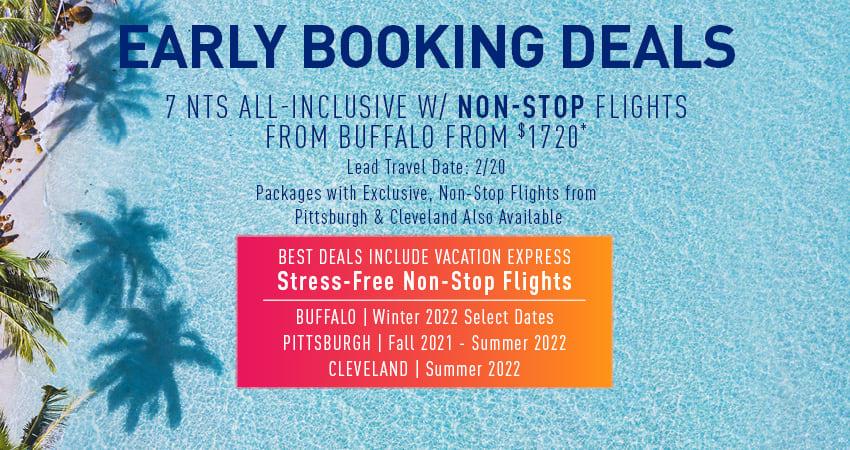 Buffalo Early Booking Deals