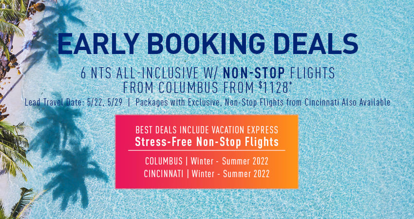 Columbus Early Booking Deals