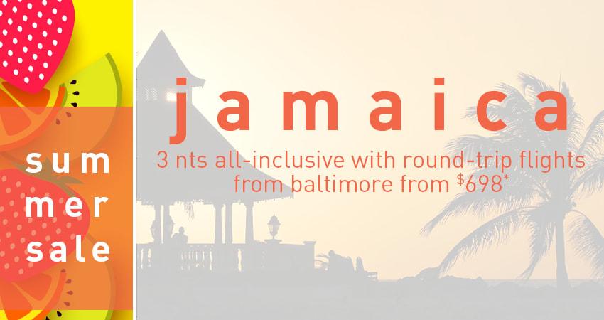 Baltimore to Jamaica Deals