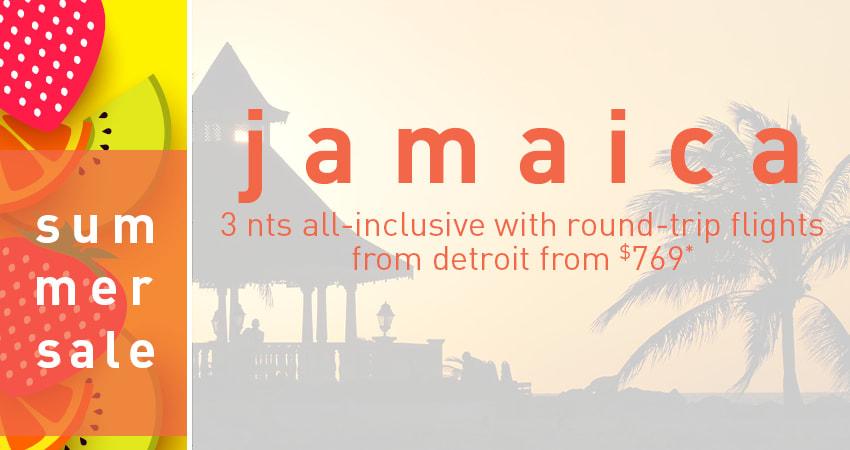 Detroit to Jamaica Deals